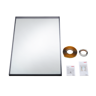 VELUX - IPL SK06 0034 - 24 mm double glazed replacement pane for V22 roof windows, 114x118