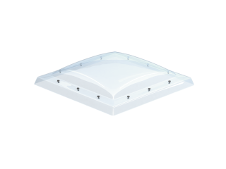 VELUX - ISD 100150 0010 - Clear PC dome top for FRW, scratch resistant, 0-15 degrees,100x150